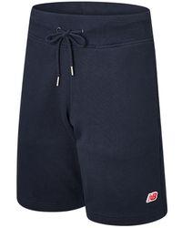 New Balance Unisex Small Nb Pack Sweat Short - Black