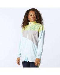 New Balance Achiever Mix Media Jacket - Multicolor