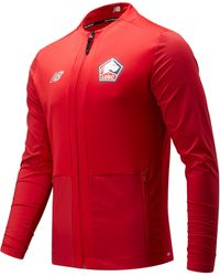 New Balance - Lille Losc Pre-game Jacket - Lyst