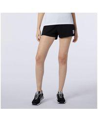New Balance Femme NB Essentials Knit Short - Noir