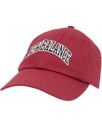 New Balance Unisex Nb Logo Hat - Red