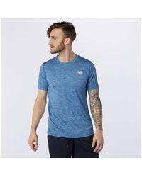 New Balance Camiseta Tenacity Corsa - Azul