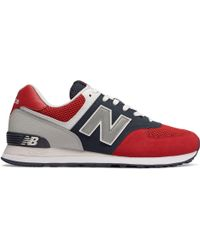 New Balance - 574 Pebbled Sport - Lyst