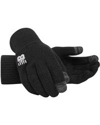 New Balance New Balance Team Knitted Gloves - Black