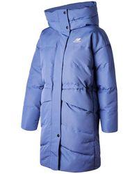 New Balance Women's Nb Athletics Terrain Long Synthetic Jacket - Blue