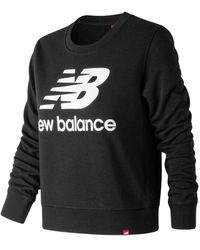 New Balance 91585 Essentials Crew - Black
