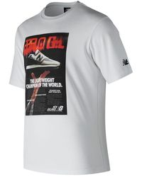 New Balance - Ghost Tee - Lyst