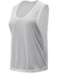 New Balance Women's Relentless Sweat Tank - White