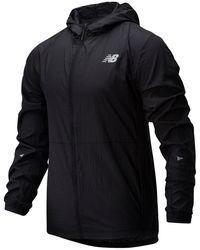 New Balance 01237 Impact Run Light Pack Jacket - Black
