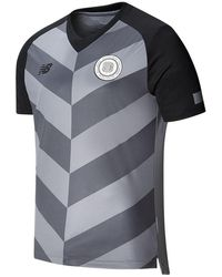 New Balance Baiteze Fc Away Short Sleeve Jersey - Grey