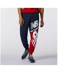New Balance Herren NB Athletics Splice Pant - Rot