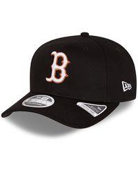 New Era 9fifty – Boston Red Sox – Neon Pop – Stretch-snap-kappe - Black