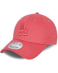 New Era La Dodgers Tonal 9forty Cap - Pink