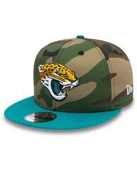 New Era - Jacksonville Jaguars 9fifty Cap - Lyst