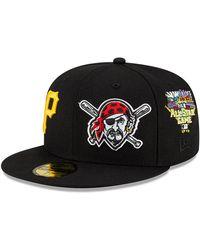 New Era Pittsburgh Pirates Mlb Team Pride 59fifty Cap - Black