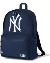 New Era New York Yankees Navy Stadium Rucksack - Blue