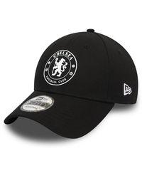 newera Chelsea Fc 9forty Cap - Black
