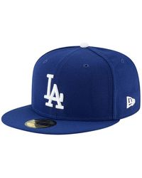 New Era La Dodgers Authentic On Field Game 59fifty Cap - Blue