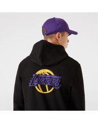 KTZ La Lakers Nba Neon Hoodie - Black