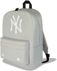 New Era New York Yankees Stadium Rucksack - Grey