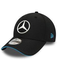 newera Mercedes-benz Formula E Replica 9forty Cap - Black