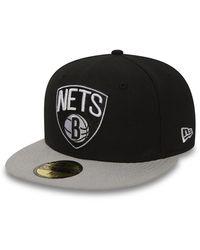 New Era Brooklyn Nets Essential 59fifty Cap - Black
