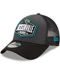 New Era - Jacksonville Jaguars Nfl Draft 9forty Cap - Lyst