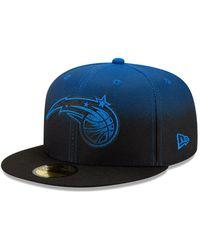 New Era Orlando Magic Nba Back Half 59fifty Cap - Black