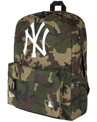 KTZ New York Yankees Woodland Stadium Backpack - Multicolour