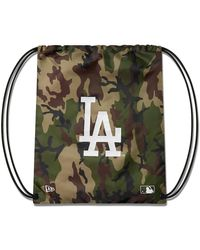 New Era La Dodgers Gymsack - Green