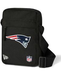 New Era New England Patriots Side Bag - Black