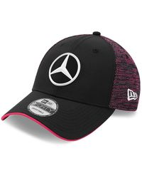 New Era 9forty – Mercedes – E-sports – Tonal – Kappe - Black