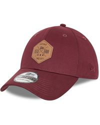 New Era New Era Essential Maroon 39thirty Cap - Red
