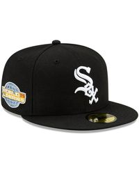 New Era Chicago White Sox Mlb World Series 59fifty Cap - Black