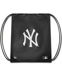 KTZ New York Yankees Gymsack - Black