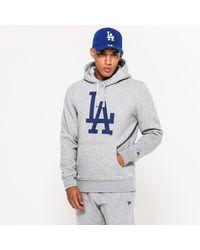 New Era La Dodgers Hoodie - Grey