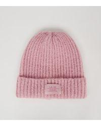 New Look Pink La 92 Logo Beanie