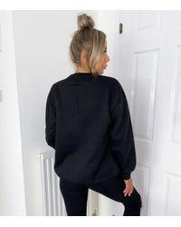 AX Paris J'adore Logo Sweatshirt New Look - Black