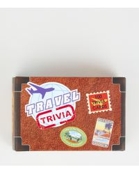 New Look Multicoloured Travel Trivia Cards