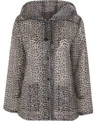 Urban Bliss Brown Leopard Print Jacket