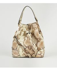 TOPSHOP Duffle Bag By Jw Anderson For Topshop in Natural - Lyst e89d74528105b