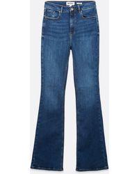 New Look Tall Blue High Waist Brooke Flared Jeans