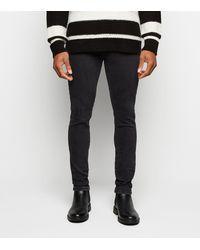 New Look - Black Super Skinny Stretch Jeans - Lyst