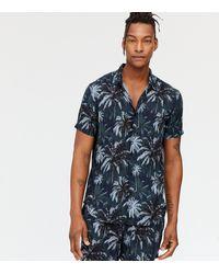 New Look Black Tropical Short Sleeve Shirt