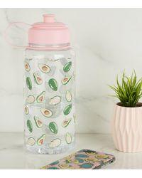 New Look Pink Avocado 1 Litre Water Bottle