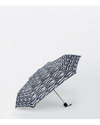 New Look Brown Leopard Print Umbrella