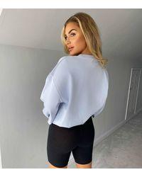 Urban Bliss Puff Sleeve Sweatshirt New Look - Blue
