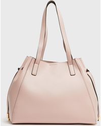 New Look Pale Pink Tie Side Slouch Tote