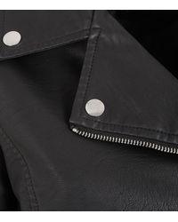 New Look Leather-look Jacket - Black
