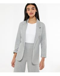 New Look Grey Jersey Blazer